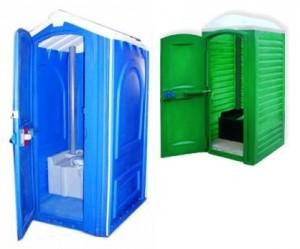 Туалетные кабины.