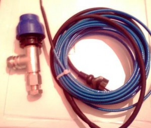 Набор для монтажа греющего кабеля.